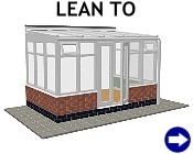 Lean To DIY Conservatory: click here to select style and options